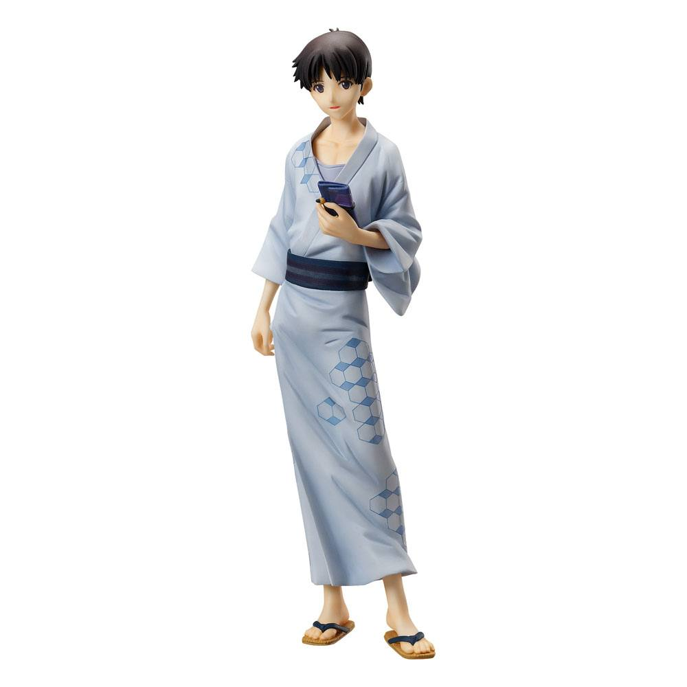 Statuette Rebuild of Evangelion Shinji Ikari Yukata Ver. 22cm