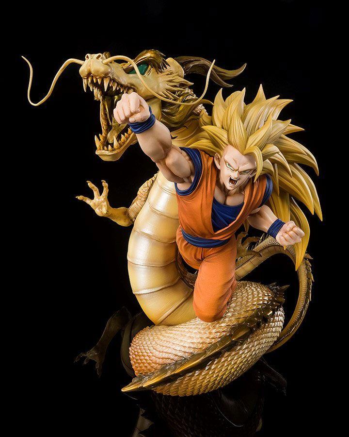 Statuette Dragon Ball Z Figuarts ZERO Extra Battle Super Saiyan 3 Son Goku 21cm 1001 Figurines (1)