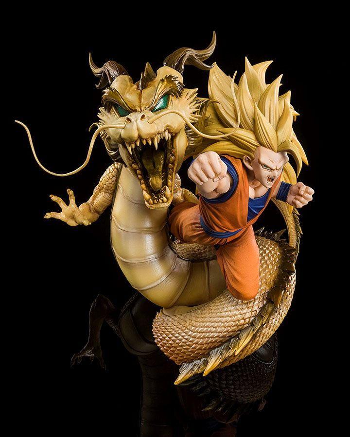 Statuette Dragon Ball Z Figuarts ZERO Extra Battle Super Saiyan 3 Son Goku 21cm 1001 Figurines (2)