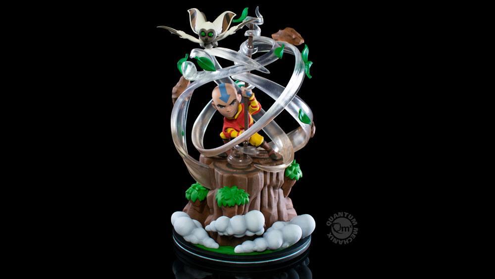 Figurine Avatar le dernier maître de l\'air Q-Fig Max Elite Aang 23cm