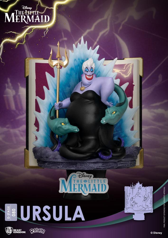 Diorama Disney D-Stage Story Book Series Ursula New Version 15cm