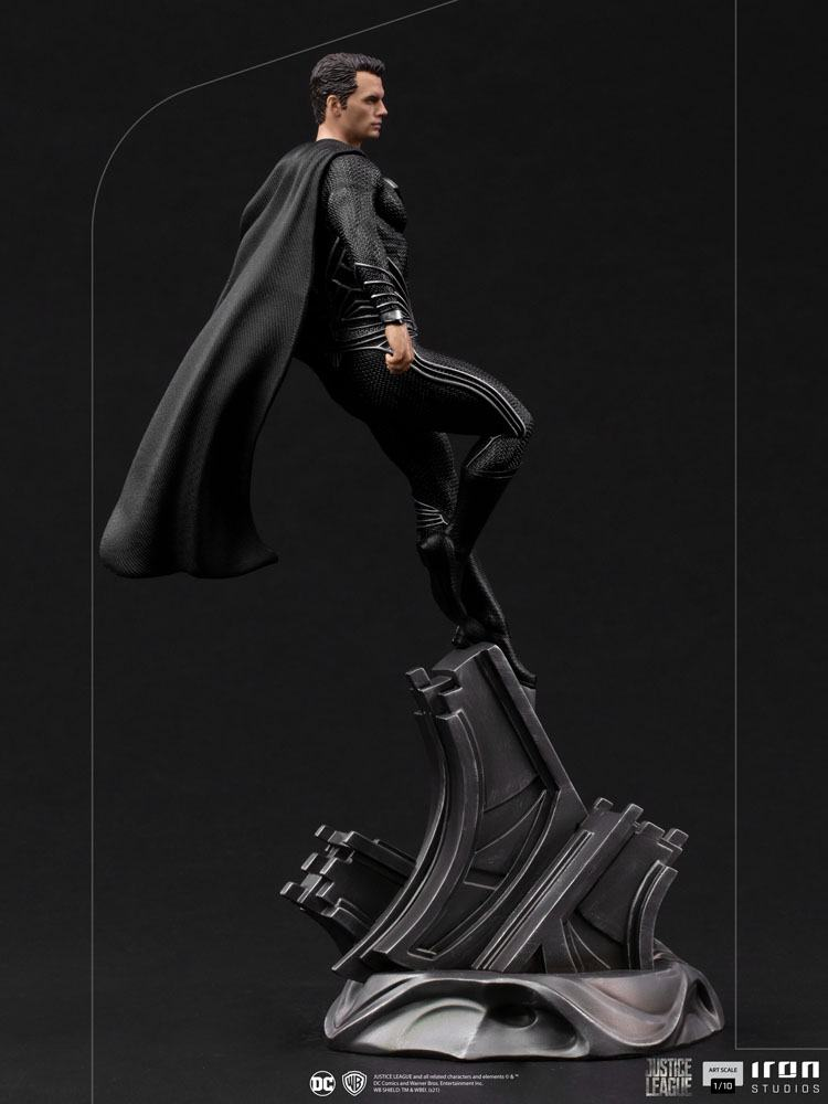 Statuette Zack Snyders Justice League Art Scale Superman Black Suit 30cm 1001 Figurines  (3)