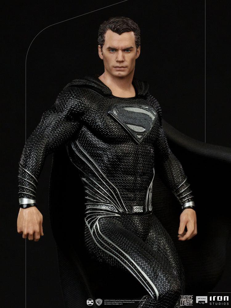 Statuette Zack Snyders Justice League Art Scale Superman Black Suit 30cm 1001 Figurines  (6)