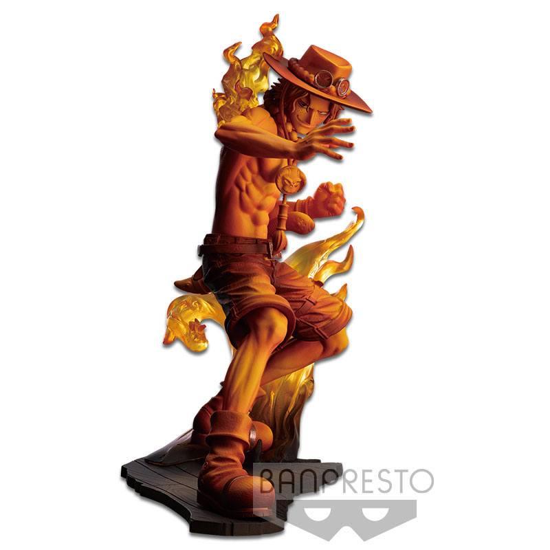 Statuette One Piece Stampede Posing Series Portgas D. Ace 14cm
