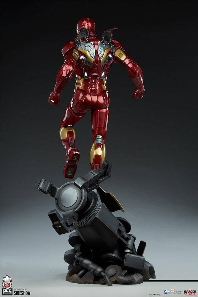 Statue Marvels Avengers Iron Man 90cm 1001 Figurines (7)