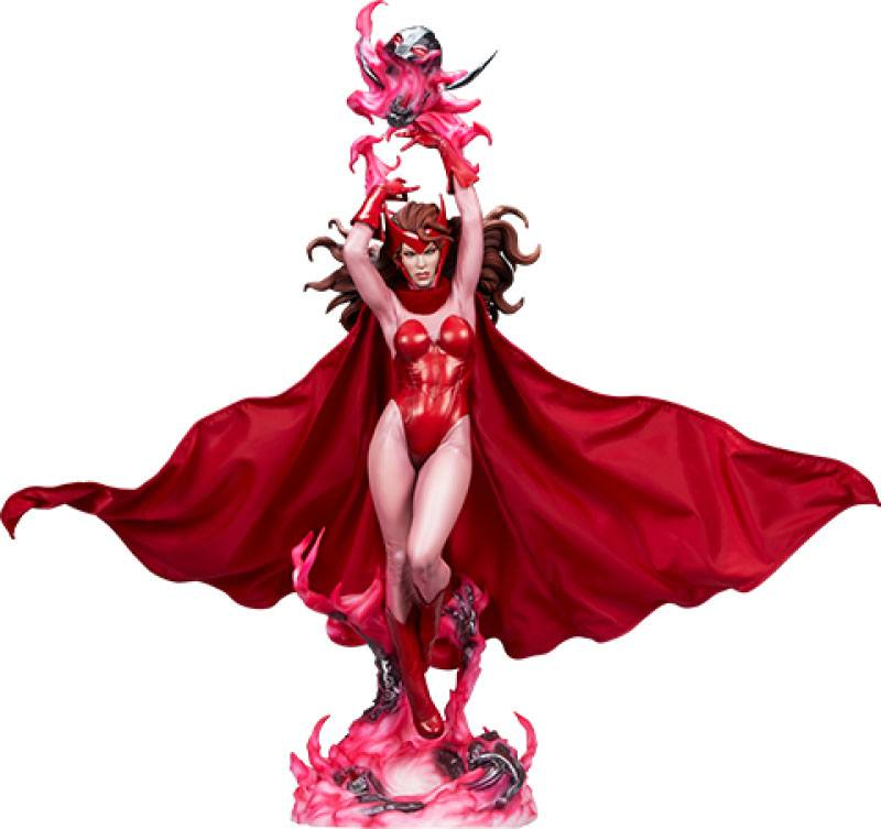 Statue Marvel Premium Format Scarlet Witch 74cm 1001 Figurines (1)