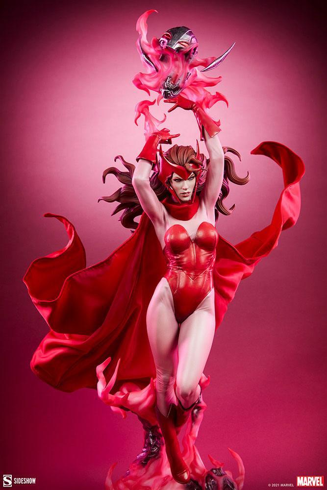 Statue Marvel Premium Format Scarlet Witch 74cm 1001 Figurines (4)