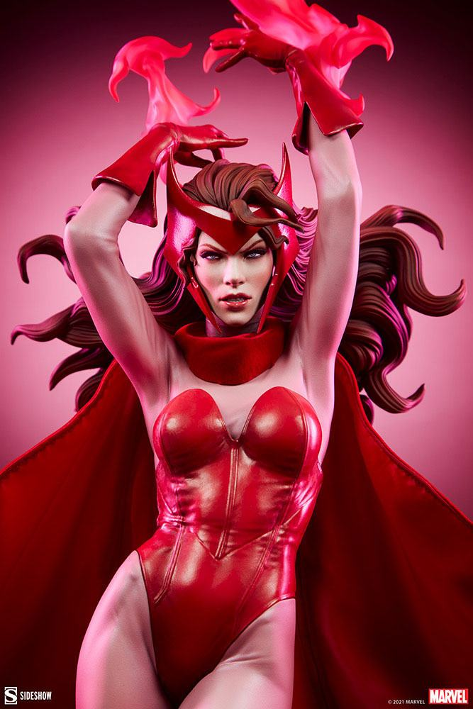 Statue Marvel Premium Format Scarlet Witch 74cm 1001 Figurines (2)