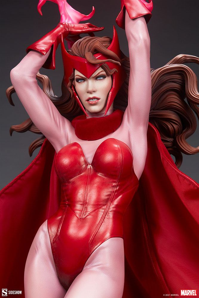 Statue Marvel Premium Format Scarlet Witch 74cm 1001 Figurines (8)