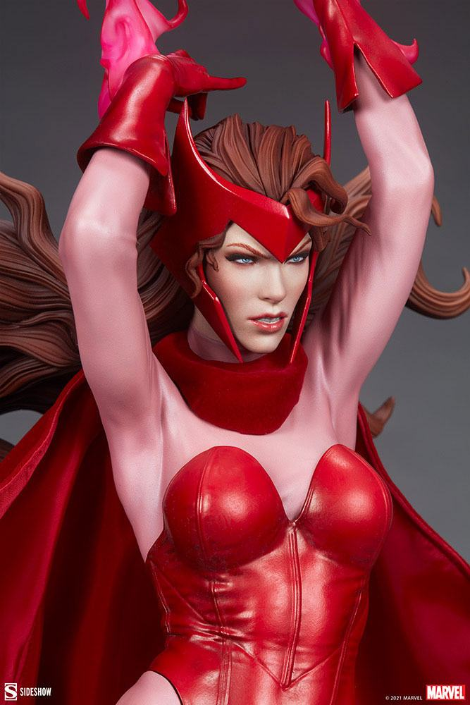 Statue Marvel Premium Format Scarlet Witch 74cm 1001 Figurines (9)