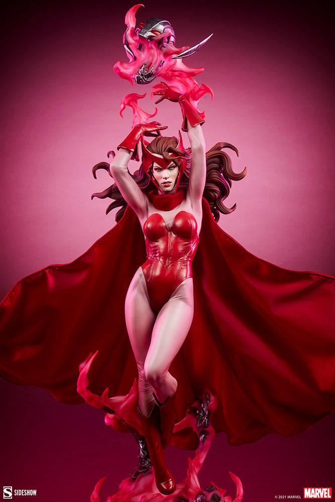 Statue Marvel Premium Format Scarlet Witch 74cm 1001 Figurines (17)