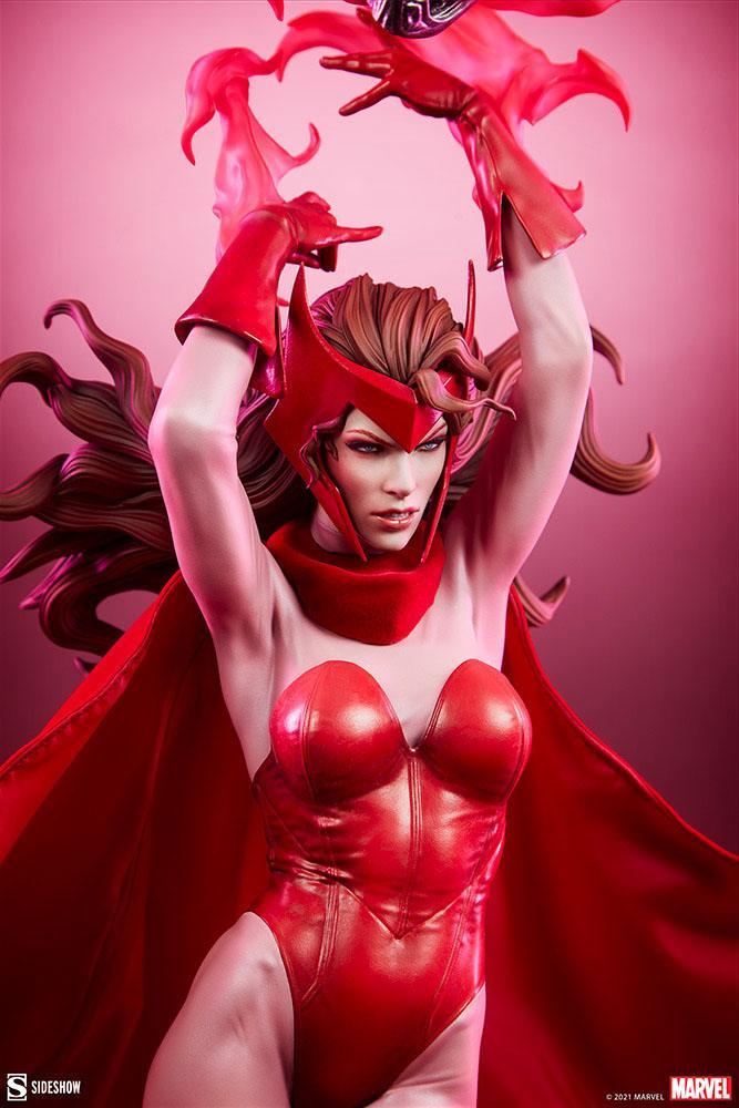 Statue Marvel Premium Format Scarlet Witch 74cm 1001 Figurines (16)