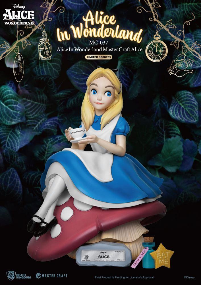 Statuette Alice au pays des merveilles Master Craft Alice 36cm