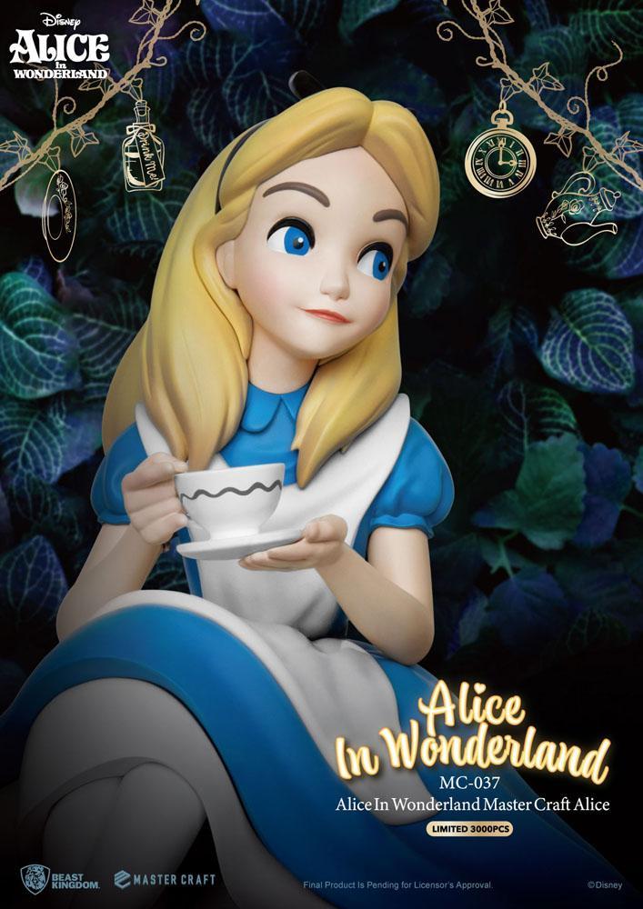 Statuette Alice au pays des merveilles Master Craft Alice 36cm 1001 fIGURINES (6)