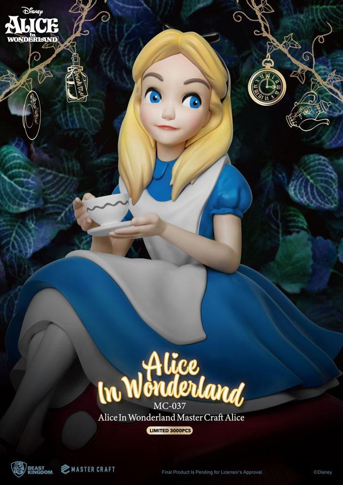 Statuette Alice au pays des merveilles Master Craft Alice 36cm 1001 fIGURINES (8)