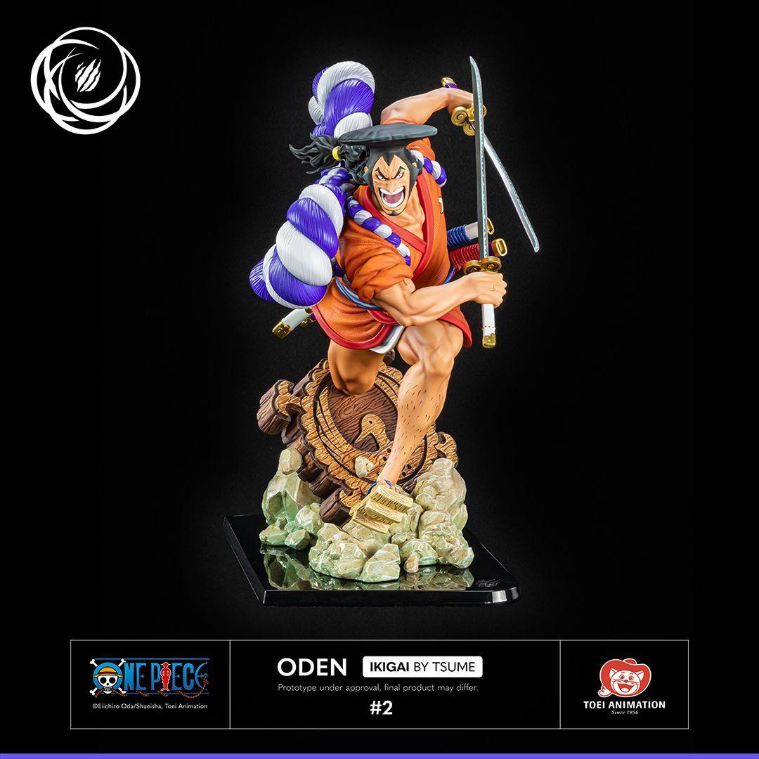 Statue One Piece Kozuki Oden Tsume Ikigai 44cm