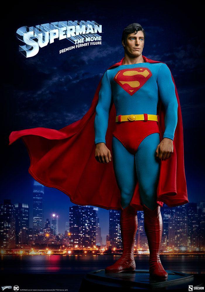 Statuette Superman Premium Format Superman The Movie 52cm 1001 Figurines (1)
