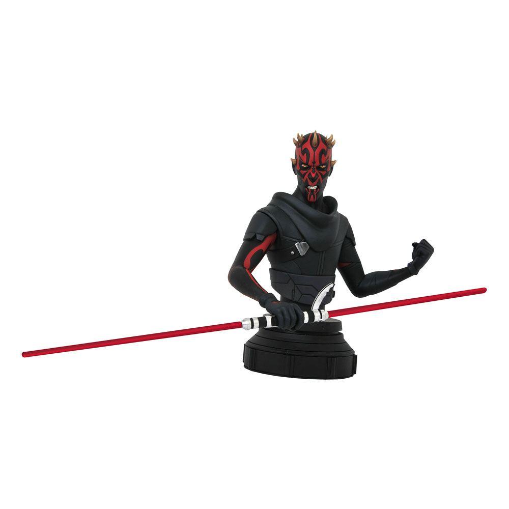 Buste Star Wars Rebels Darth Maul 15cm