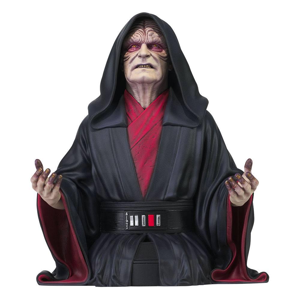 Buste Star Wars Episode IX Emperor Palpatine 18cm