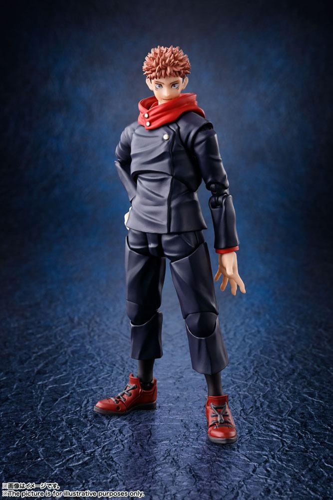 Figurine Jujutsu Kaisen S.H. Figuarts Yuji Itadori 15cm