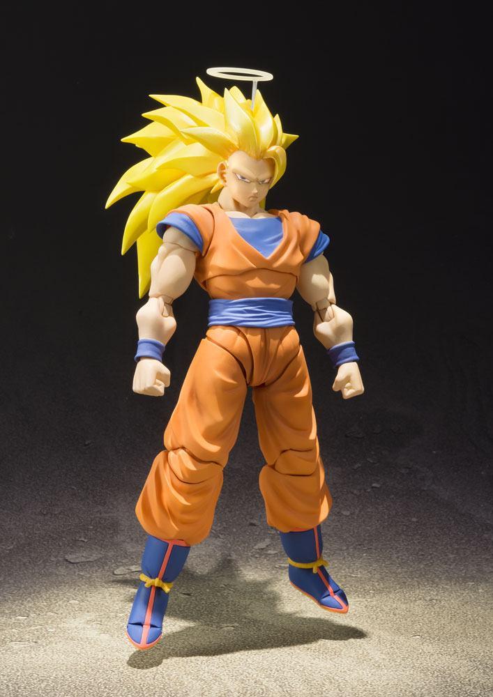 Figurine Dragon Ball Z S.H. Figuarts SSJ 3 Son Goku 16cm