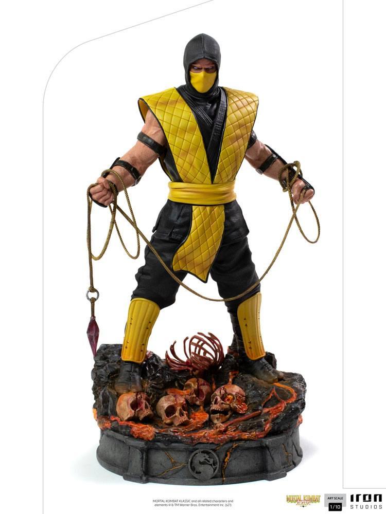 Statuette Mortal Kombat Art Scale Scorpion 22cm