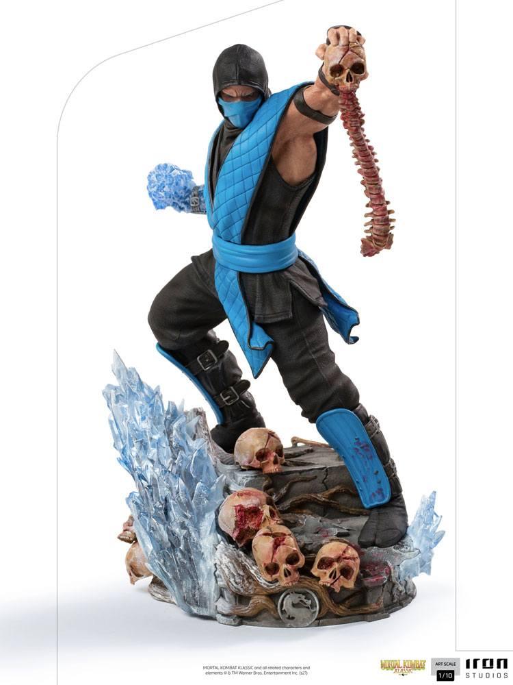 Statuette Mortal Kombat Art Scale Sub-Zero 23cm 1001 Figurines (1)