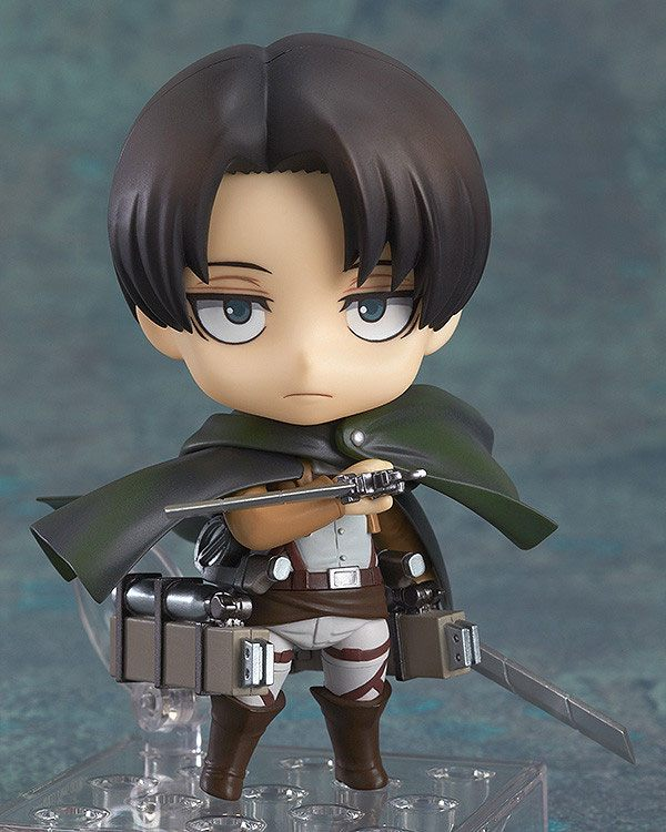 Figurine Nendoroid Attack on Titan Levi 10cm