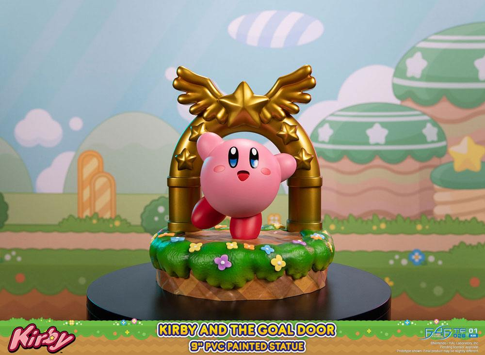 Statuette Kirby - Kirby and the Goal Door 24cm