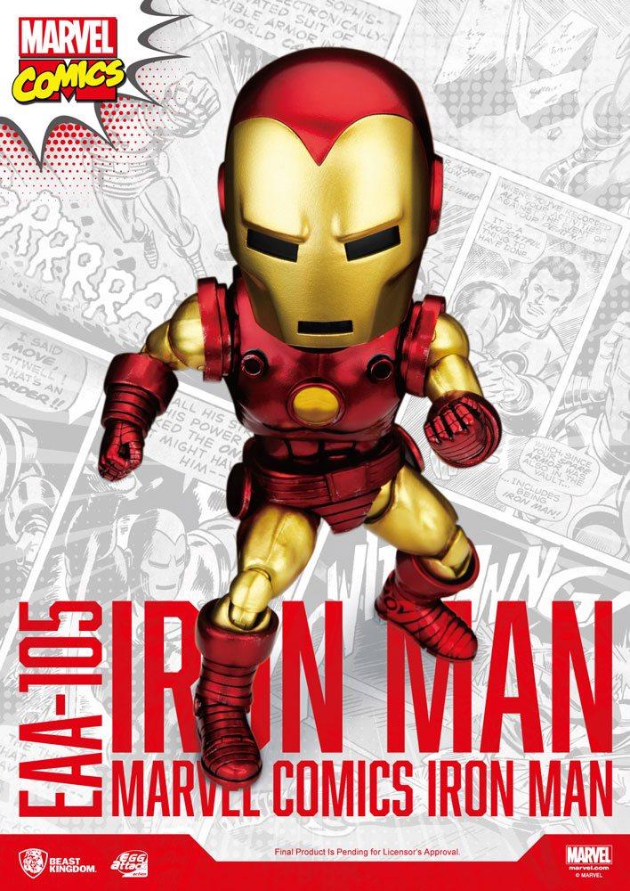 Figurine Marvel Egg Attack Iron Man Classic Version 16cm