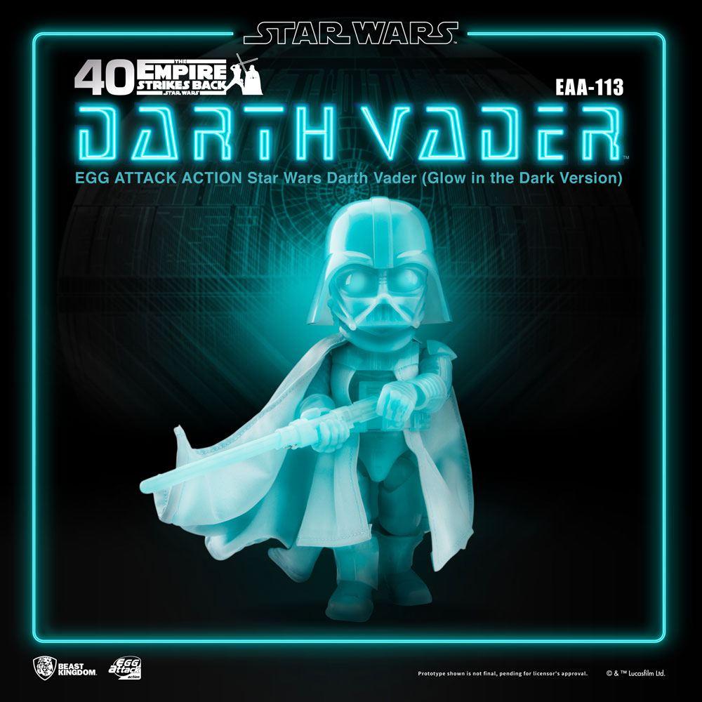 Figurine Star Wars Egg Attack Darth Vader Glow In The Dark Ver. 16cm