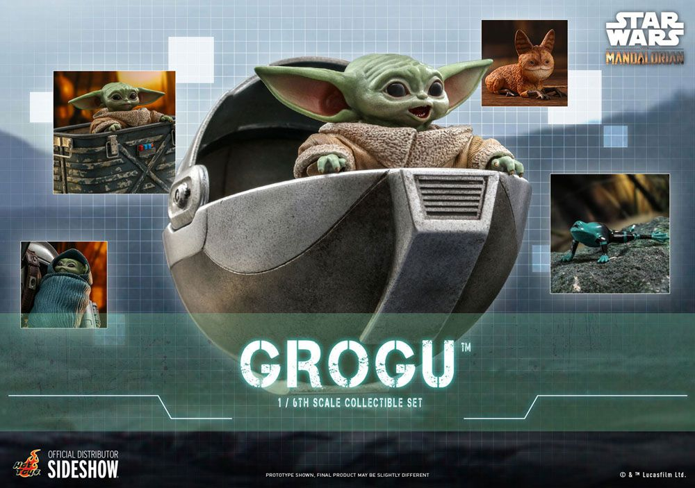Figurines Star Wars The Mandalorian Grogu