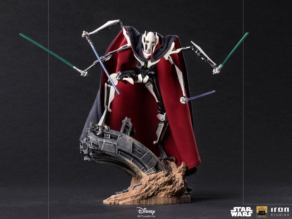 Statuette Star Wars Deluxe BDS Art Scale General Grievous 33cm