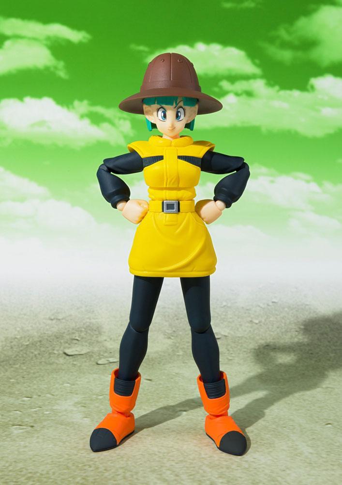 Figurine Dragon Ball Z S.H. Figuarts Bulma Journey to Planet Namek 14cm