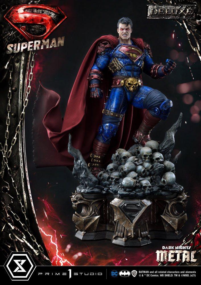 Statue DC Comics Superman Deluxe Bonus Ver. 88cm