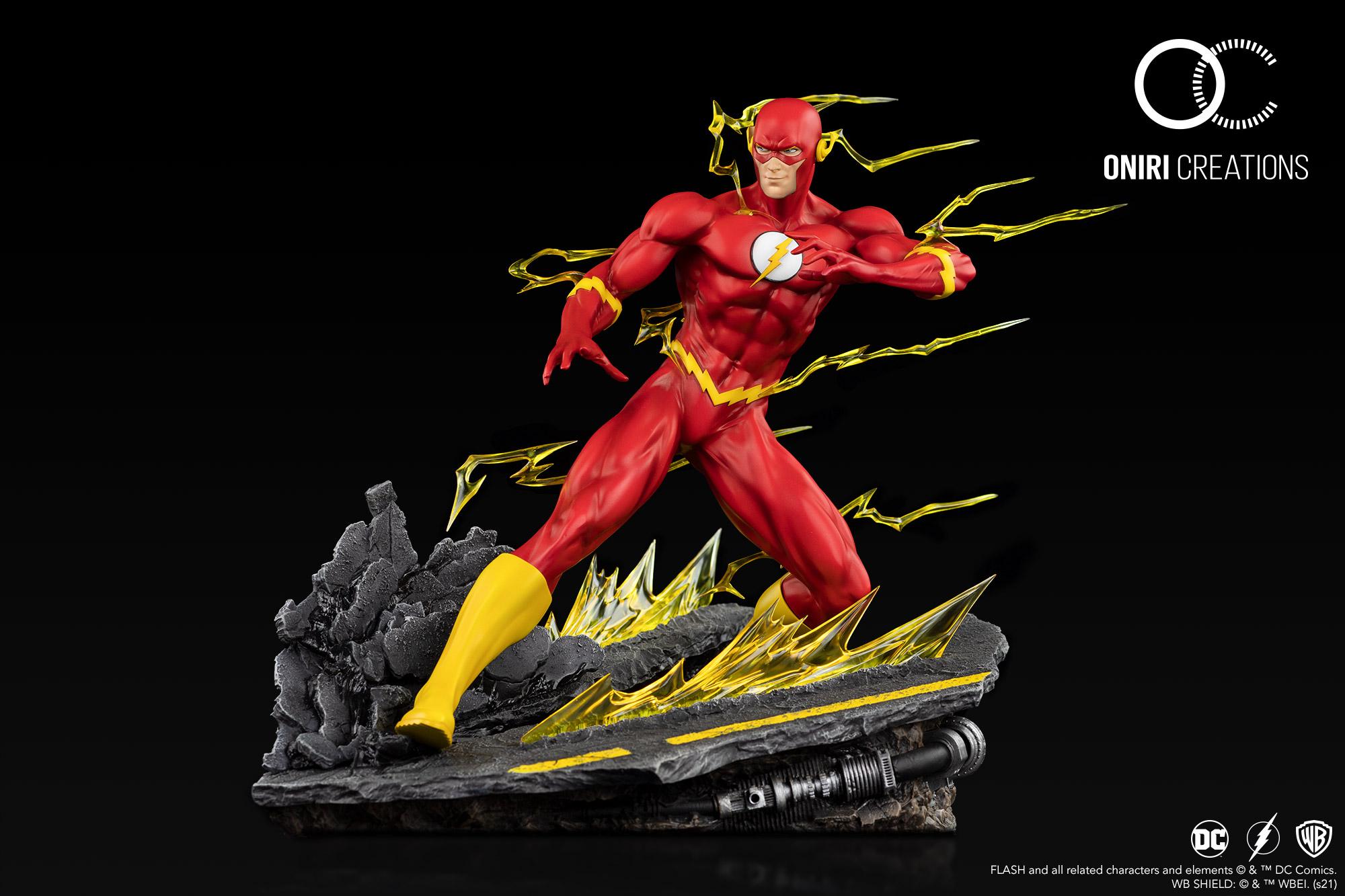 Statue DC Comics The Flash Oniri Creations 36cm 1001 Figurines (2)