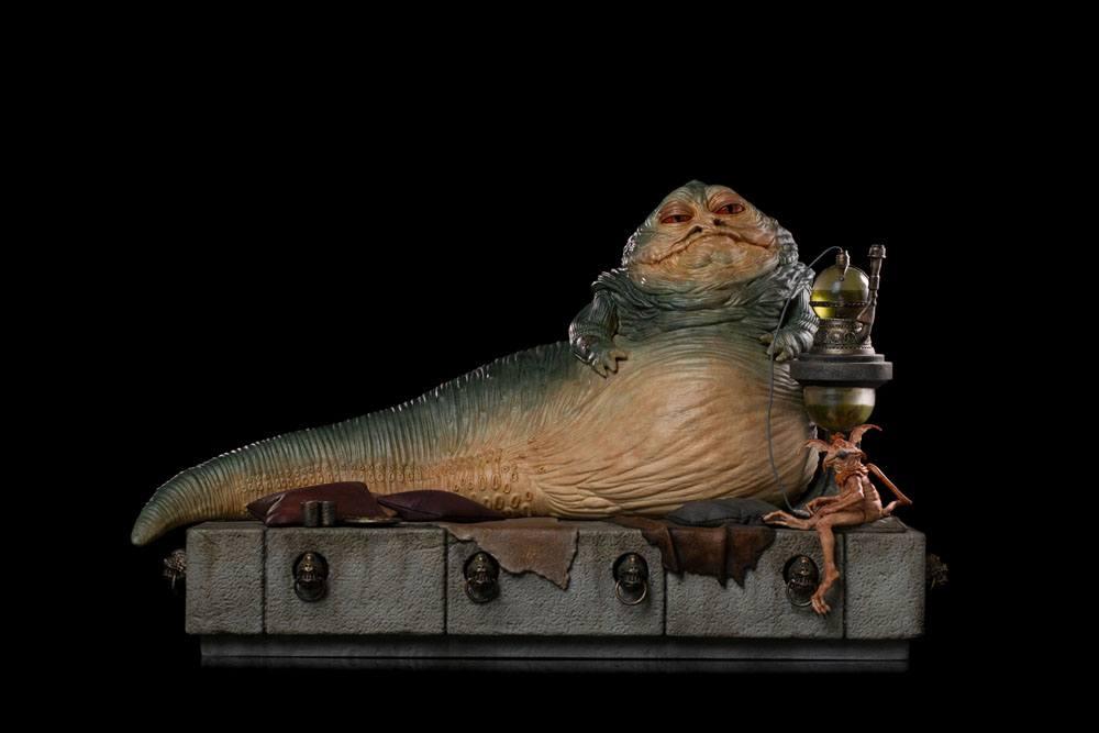 Statuette Star Wars Deluxe Art Scale Jabba The Hutt 23cm 1001 Figurines  (12)
