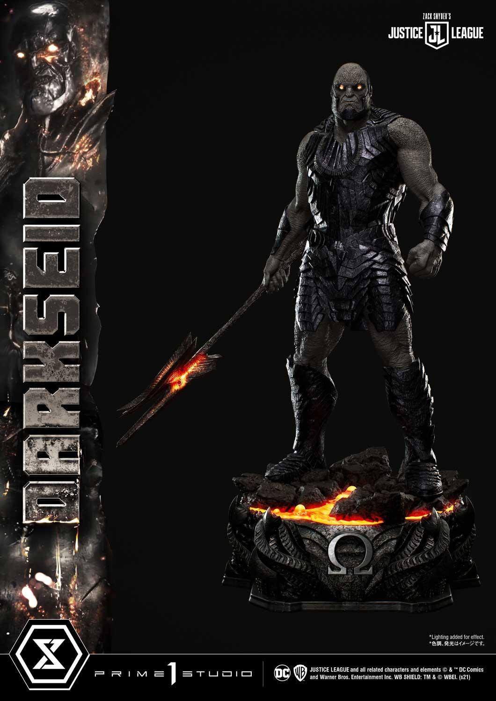 Statue Zack Snyder\'s Justice League Museum Masterline Darkseid 105cm