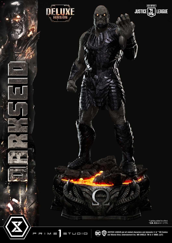 Statue Zack Snyder\'s Justice League Museum Masterline Darkseid Deluxe Version 105cm