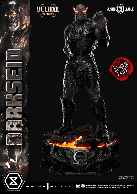 Statue Zack Snyder\'s Justice League Museum Masterline Darkseid Deluxe Bonus Version 105cm