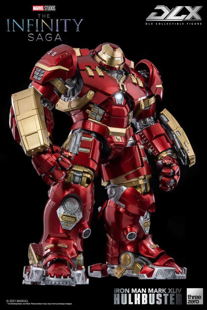 Figurine Infinity Saga DLX Iron Man Mark 44 Hulkbuster 30cm 1001 Figurines (1)