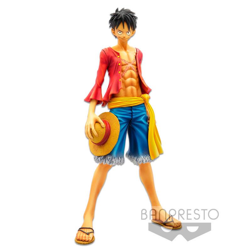 Statuette One Piece Banpresto Chronicle Master Stars Piece Monkey D. Luffy 24cm