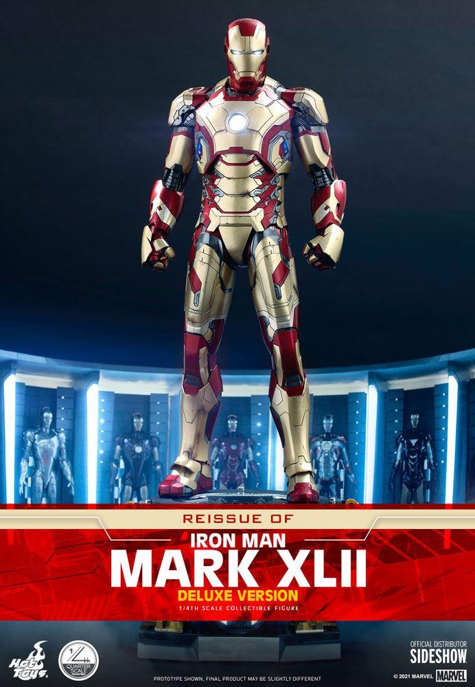Figurine Iron Man 3 Iron Man Mark XLII Deluxe Ver. 49cm