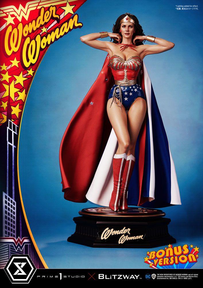 Statue Wonder Woman 1975 Wonder Woman Lynda Carter Bonus Version 69cm