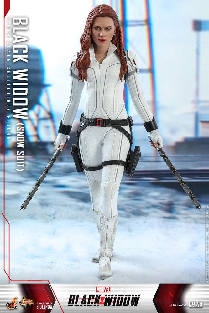Figurine Black Widow Movie Masterpiece Black Widow Snow Suit Version 28cm