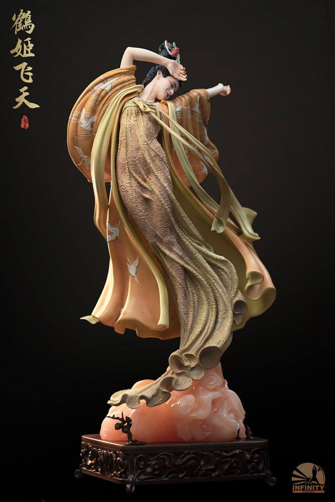 Statuette Infinity Studio Elegance Beauty Series The Flying Princess Crane Deluxe Version 50cm