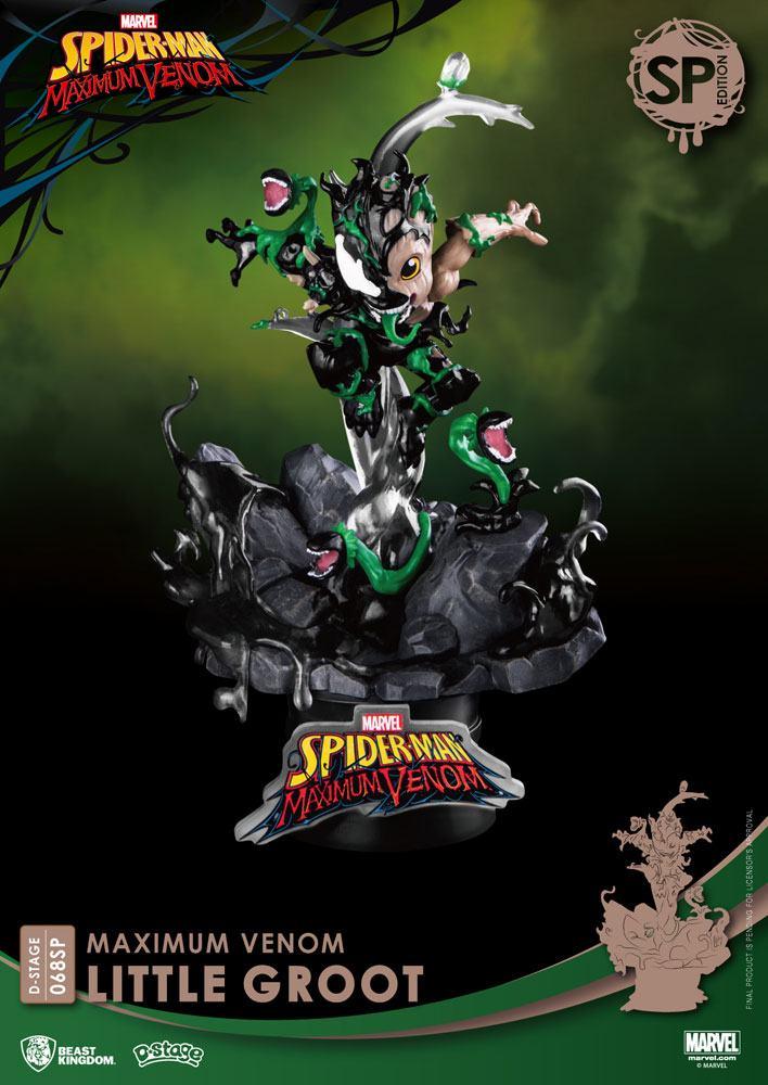 Diorama Marvel Comics D-Stage Maximum Venom Little Groot Special Edition 16cm