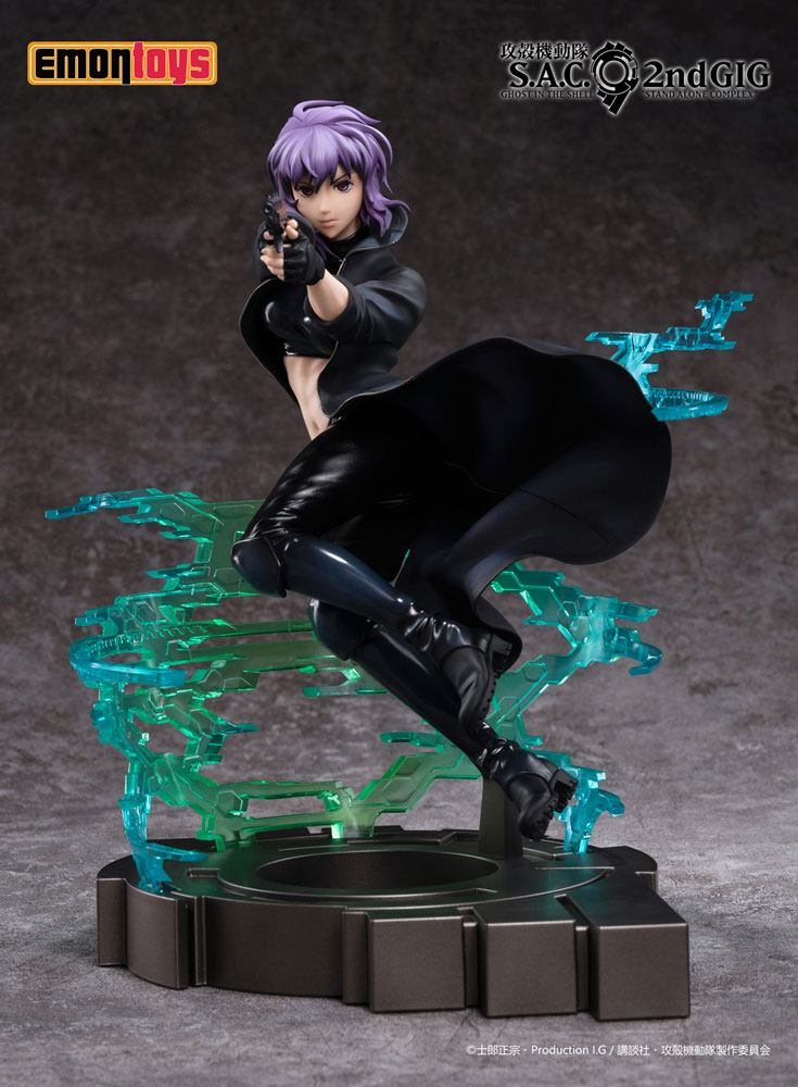 Statuette Ghost in the Shell S.A.C. 2nd Motoko Kusanagi 25cm 1001 Figurines (1)