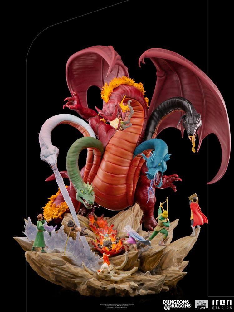 Statuette Dungeons & Dragons Demi Art Scale Tiamat Battle 56cm 1001 Figurines (10)