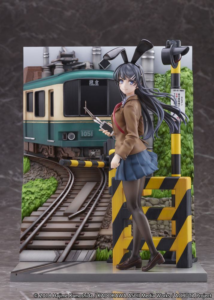 Statuette Rascal Does Not Dream of Bunny Girl Senpai Mai Sakurajima Enoden Ver. 29cm